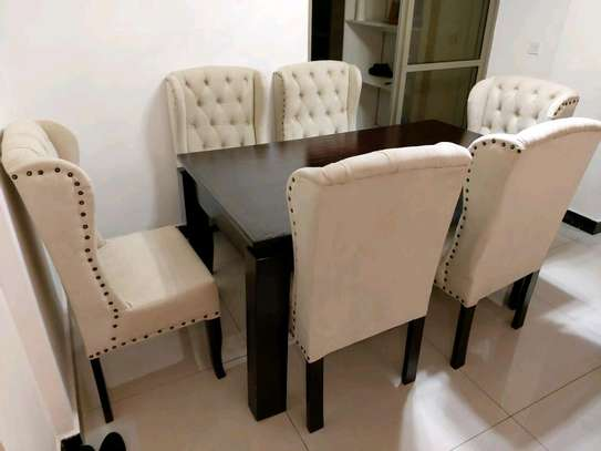 Stylish Functional 6 Seater Dining Set image 1