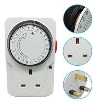 3200W Mechanical Timer for Electrical and Electronic Appliances image 1