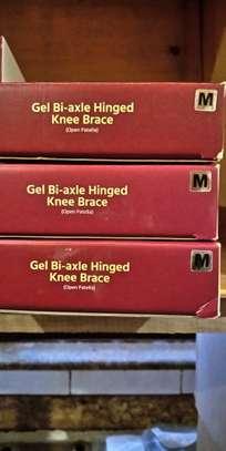 Hinged knee brace image 1