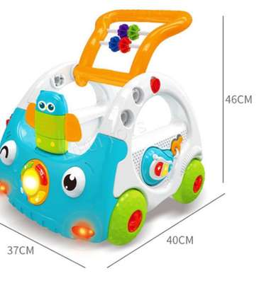 Baby 3in1 Baby Walker & Discovery Car image 7