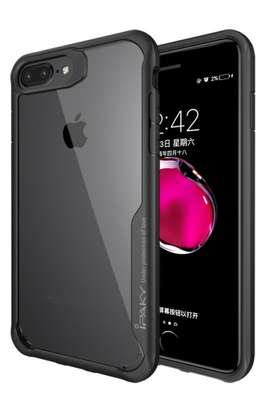 IPAKY Hybrid Shockproof Transparent Case for iPhone  7 7 Plus image 3