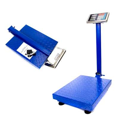 300 kg Digital Floor Bench weighing Scale Electronic Platform image 1