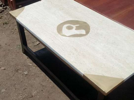 Marble coffee table image 2