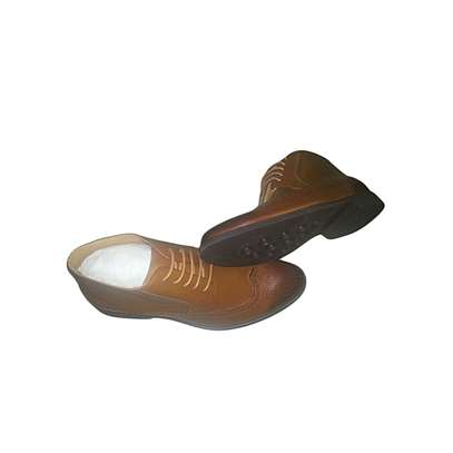 Men's Leather Shoes Brown image 1