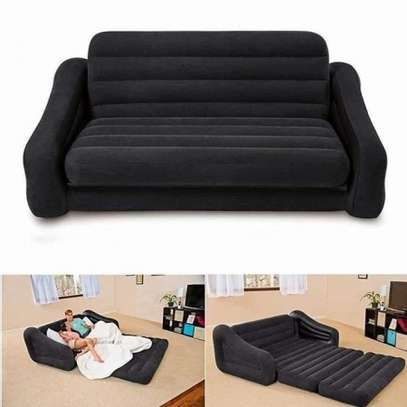 3 Seater Inflatable Pullout Sofa With Free Pump image 2