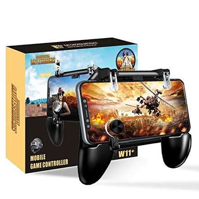 W11 PUBG Mobile Joystick Gamepad Button For Android iPhone Gaming Pad image 1