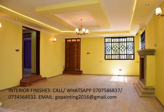 Go Painting Company- Professional Painting and Gypsum ceilings and Commercial False ceilings