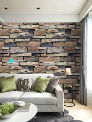brick printed wallpapers image 2