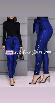 Ladies fashion trousers image 2