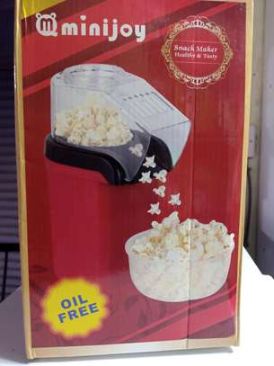 Oil free mini electric pop corn machine image 1