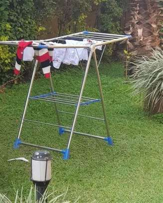 Stainless drying cloth stands image 4