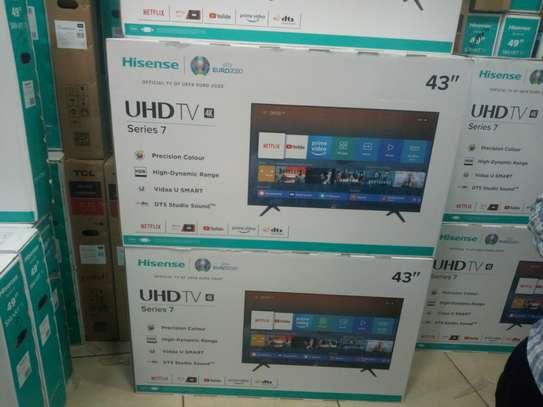 Hisense 43 inch smart 4k UHD image 1