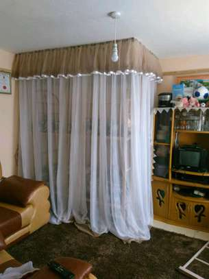 Brand new custom made Rail shears mosquito nets sliding like curtains fixed on the ceiling image 14
