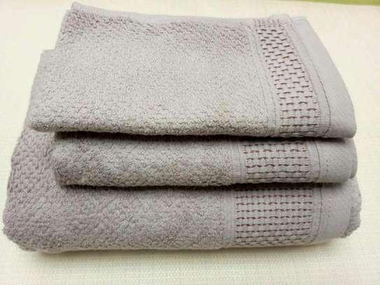 3 PIECE COTTON TOWELS image 1