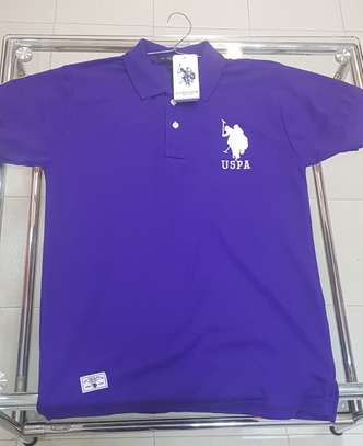 US Polo Branded TShirt - Dark Blue