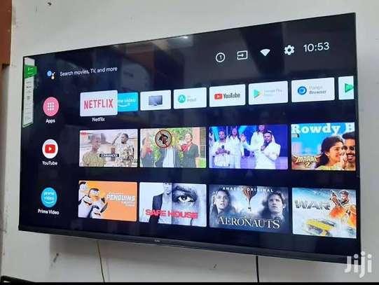 New 43 inch Syinix Android Frameless Smart Digital TVs image 1