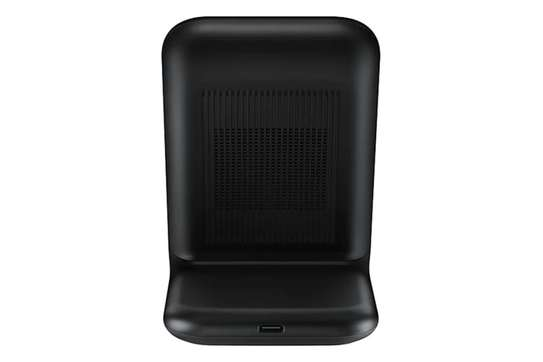 Samsung -15w Qi Fast Charge Wireless Charging Stand for iPhone/Android image 2