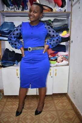Blue Dress image 1