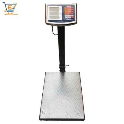 Bench scale type TCS electronic platform weighing scales 100kg 150kg 200kg 300kg with big LED/LCD display image 1