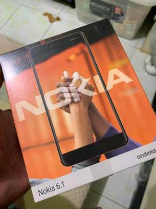 Nokia 6.1 new 32gb 3gb ram 16mp camera-4G network image 1