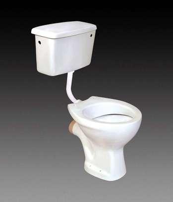 Complete W.C Toilets (white) image 1