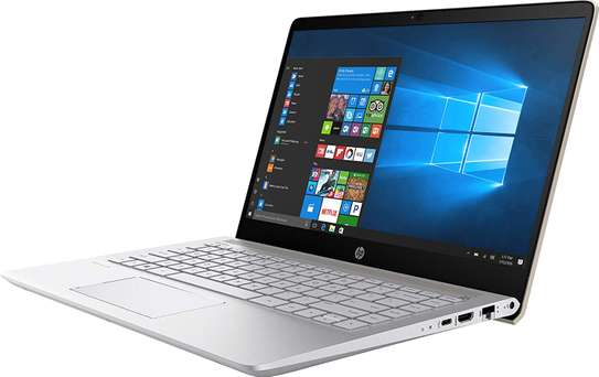 HP 14 Intel Core I5 8th Gen 14-Inch FHD Thin And Light Laptop (8GB/256GB SSD/Windows 10 Home/Silver-14-cf0051od image 2