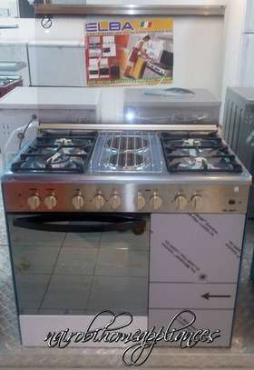 Elba 4 Gas + 2 Electric Stainless Steel Cooker- EB/165 image 1