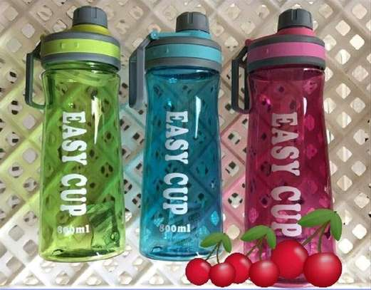 Water bottle  easy cup 1000ml image 1