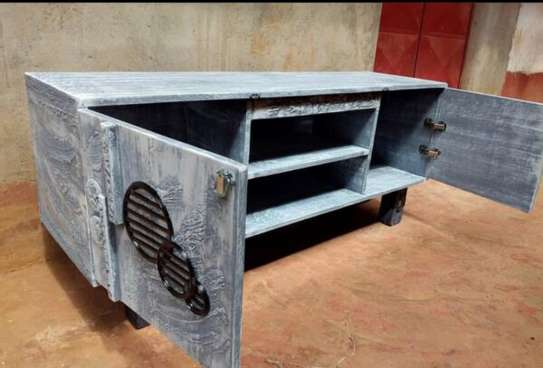 ARTISTIC RUSTIC TV STAND image 2