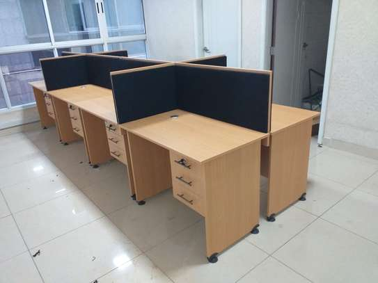 6 Way Office Workstation