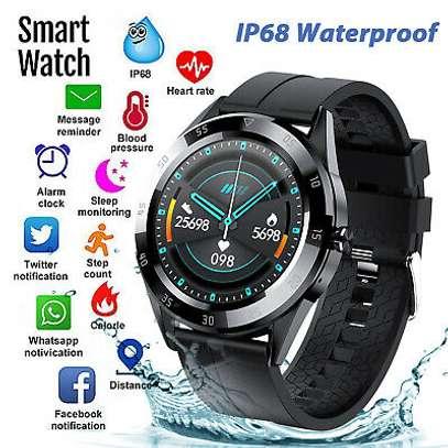 Men Y10 Bluetooth Smart Watch Heart Rate Wristwatch image 3
