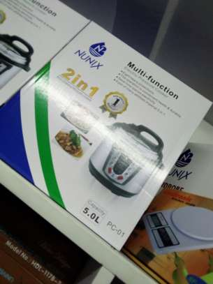 Nunix 2 in 1 Multi Function Electric Pressure Cooker image 1