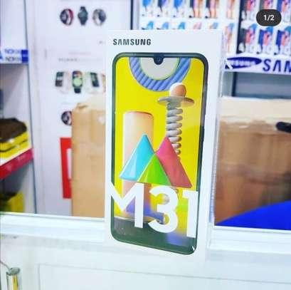 "Samsung Galaxy M31 - 6.4"",128GB+6GB RAM,64MP Camera,Dual SIM, 6000mAh- Black. image 1"