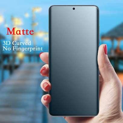 UV Privacy Anti-Spy Anti-Peep NANO Liquid Full Glue Tempered Glass For Samsung Note 20/Note 20 Ultra image 8