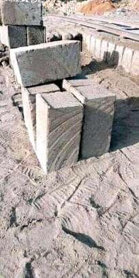 Machine cut stones