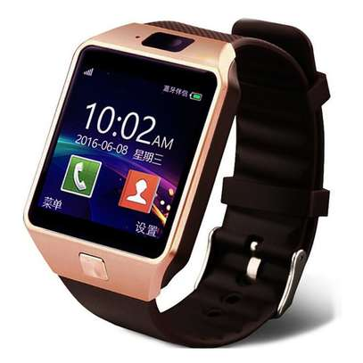 Dz09 Smart Watch -Black image 1