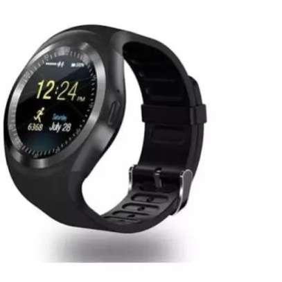 Black Y1 Smart Watch image 1