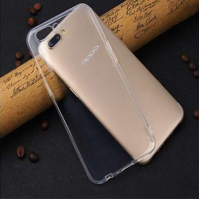 Clear TPU Soft Transparent case for Oppo F9 F9 Pro image 6