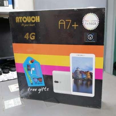 ATouch A7 Plus 1GB Ram+16GB ROM 7 inch Kids Tablet -Dual Sim image 1