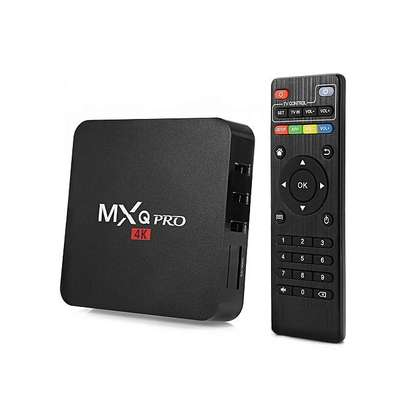 MXQ Pro Smart 4K Android TV Box Amlogic Quad Core 1GB RAM 8GB ROM – Black image 2