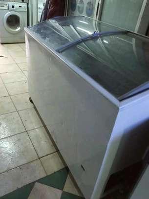 BestQuick display chest freezer 4fit on sale image 1
