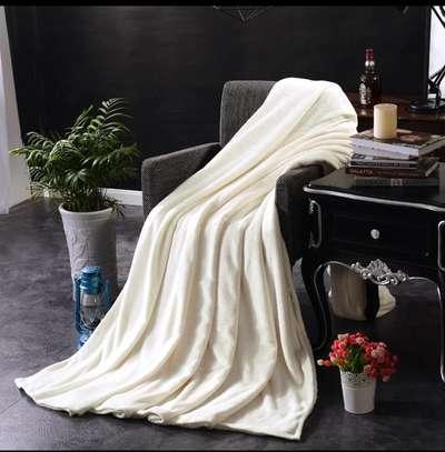 Super soft coral fleece blankets image 2