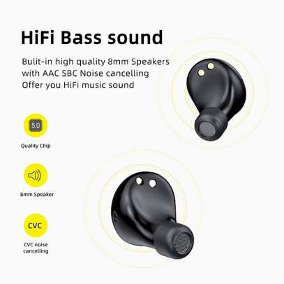 Awei  TWS Wireless Earbuds Bluetooth 5.0 Noise Reduction 4 Hours Working Time- Black