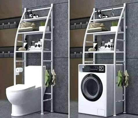 over the toilet bathroom storage organizer image 2