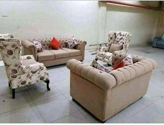 Mordern fabric sofas image 1