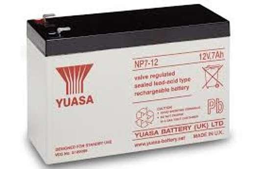 Batteries 12vV  7Ah Yuasa/CSB/Guston/Fiam image 1