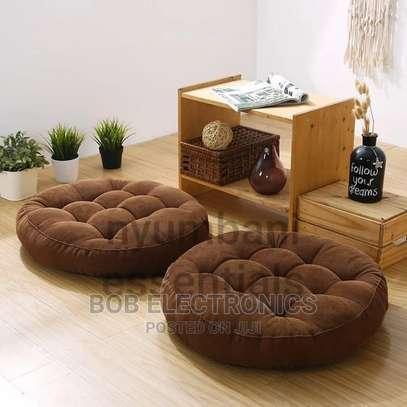 Round Floor Pouf Pillows image 5