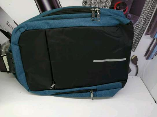 Laptop backpack different colours image 2