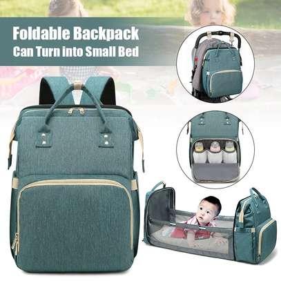 2 in 1 baby bag/ sleeping bag image 1