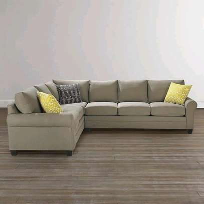 Gorgeous Contemporary 7 Seater L-Shaped Sofa image 1
